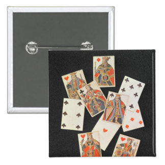 Playing Cards 15 Cm Square Badge
