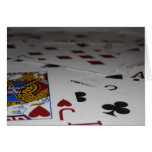 Playing Cards blank notecard