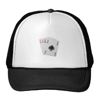 Playing cards cap