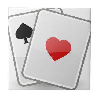 Playing Cards Ceramic Tile