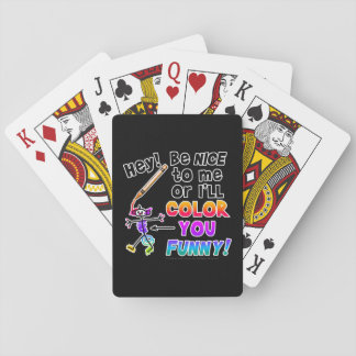 Playing Cards - Color You Funny