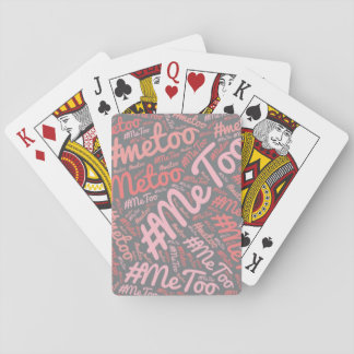 Playing Cards - Deck of Cards - Games - #MeToo