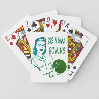 playing cards for bowlers, women, ladies,