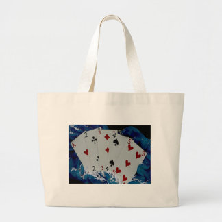 Playing Cards Jumbo Tote Bag