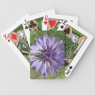Playing Cards - Lilac Purple Bachelor s Button