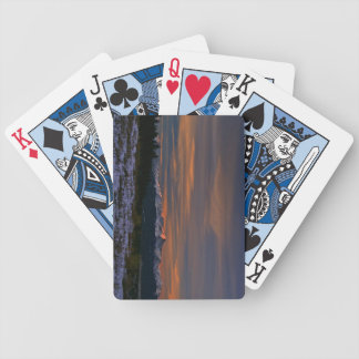 Playing Cards: Mt Elbert Sunrise Poker Deck