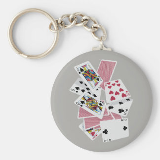 Playing Cards - Play To Win - Lucky Charms Key Ring