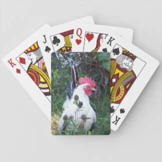 Playing Cards Rooster Theme