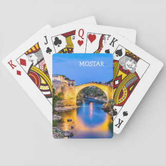 Playing Cards, Standard Index faces Mostar Playing Cards