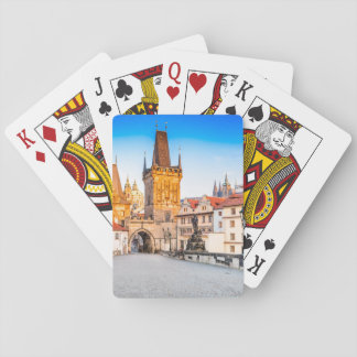 Playing Cards, Standard Index faces Prague Playing Cards