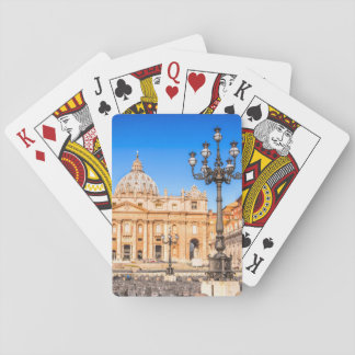 Playing Cards, Standard Index faces Vatican Playing Cards