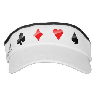 Playing Cards Suits Visor