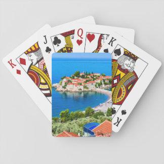 Playing cards Sveti Stefan