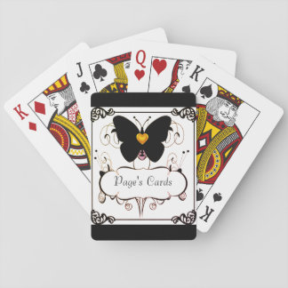 Playing Cards-Template_Gold-Heart--Butterfly Playing Cards