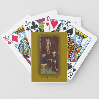 Playing Cards Visconti-Sforza Tarot The Lovers