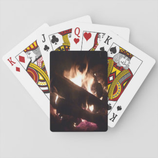 Playing Cards with Camp Fire