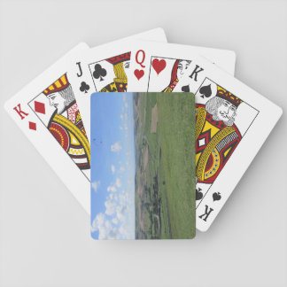Playing Cards With South Downs Picture
