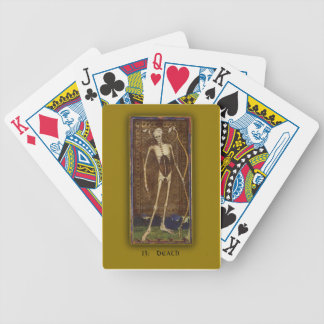 Playing Cards with Tarot Art Death