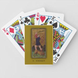 Playing Cards with Tarot Art Strength