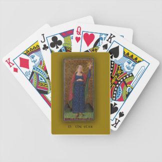 Playing Cards with Tarot Art The Star