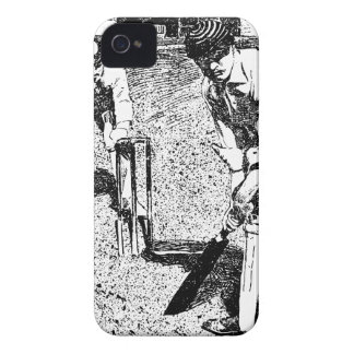 Playing Cricket iPhone 4 Case