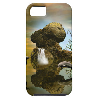 Playing dolphins iPhone 5 cases