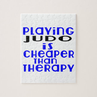Playing Judo Cheaper Than Therapy Jigsaw Puzzle