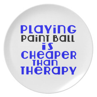 Playing Paint Ball Cheaper Than Therapy Plate