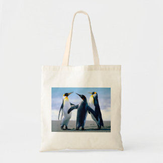 Playing Penguins Budget Tote Bag