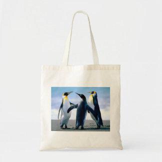 Playing Penguins Budget Tote Bag