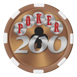 Playing poker chip 200