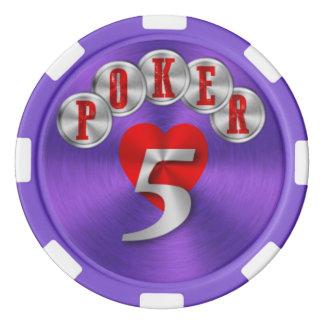 Playing poker chip 5