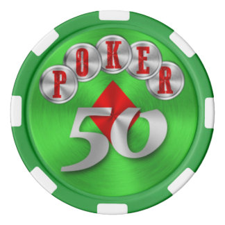 Playing poker chip 50