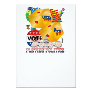 Playing-Politics-V-1 13 Cm X 18 Cm Invitation Card