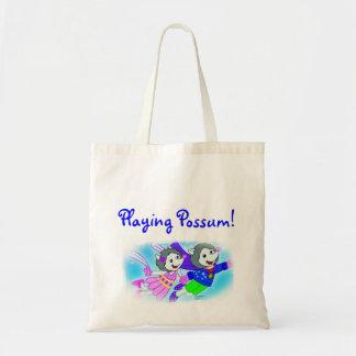 Playing Possum! Canvas Bag