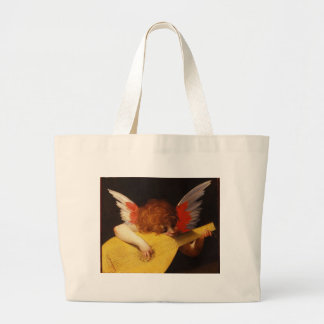 Playing putto (Musician Angel) by Rosso Fiorentino Jumbo Tote Bag