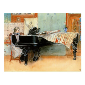Playing Scales 1898 Postcard
