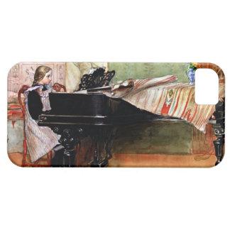Playing Scales - Carl Larsson artwork iPhone 5 Case
