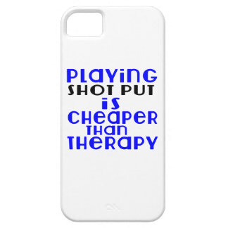 Playing Shot Put Cheaper Than Therapy Barely There iPhone 5 Case
