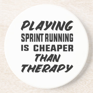Playing Sprint Running is cheaper than therapy Coaster