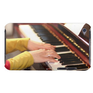 Playing the Piano Barely There iPod Cases