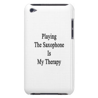 Playing The Saxophone Is My Therapy Barely There iPod Cover