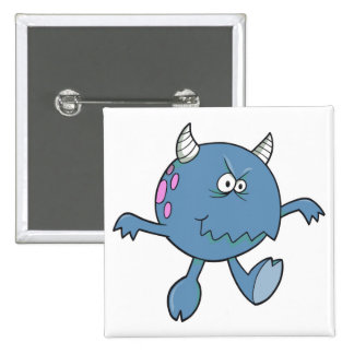 playing tough bluish monster friend buttons