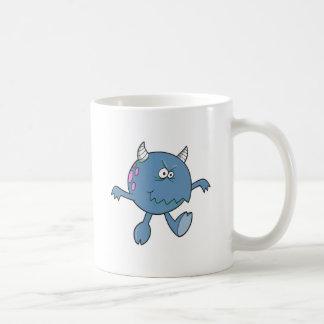 playing tough bluish monster friend coffee mugs