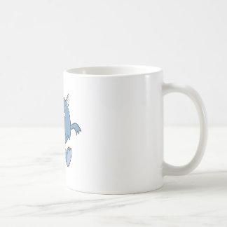 playing tough bluish monster friend mug
