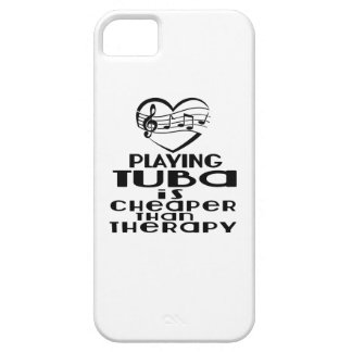 Playing Tuba Is Cheaper Than Therapy iPhone 5 Case