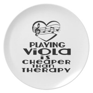 Playing Viola Is Cheaper Than Therapy Plate