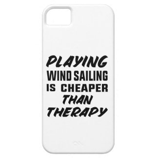 Playing Wind Sailing  is Cheaper than therapy Barely There iPhone 5 Case