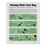 Playing With Your Dog Poster