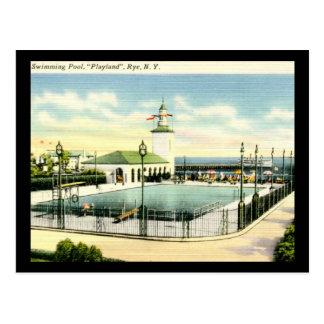 Playland, Rye, New York Vintage Postcard
